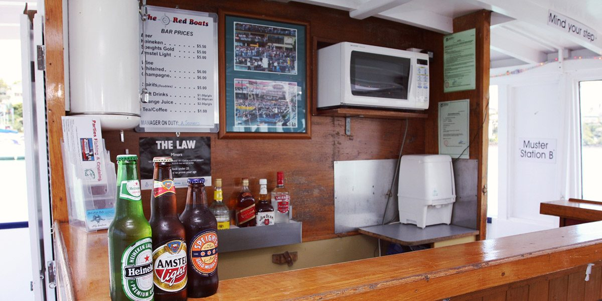 Bar Service Auckland Party boats